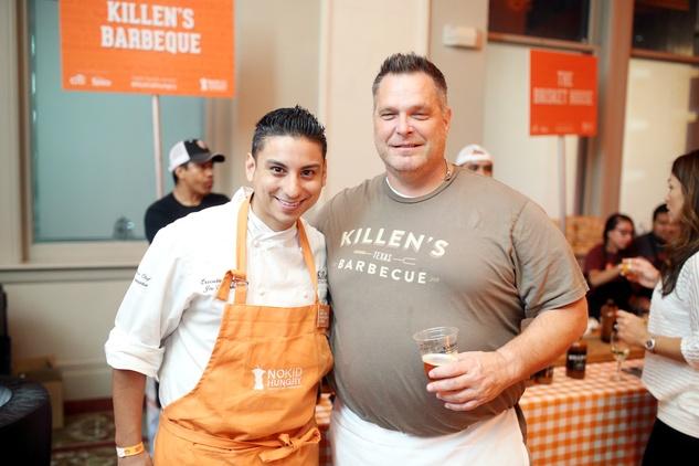 News, Taste of the Nation, Sept. 2015 Joe Cervantez, Ronnie Killen