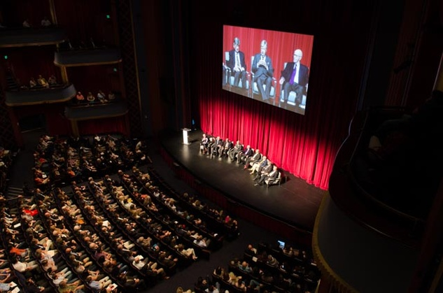 News, Shelby, Hines Architecture Forum, Sept. 2015, Hobby Center