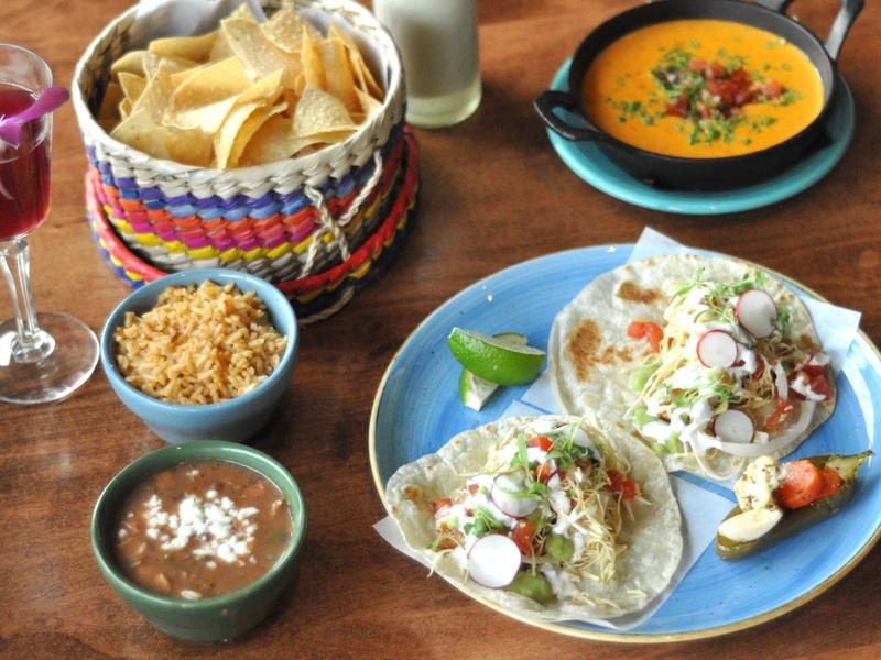 El Burro Tex Mex and Bar restaurant happy hour food