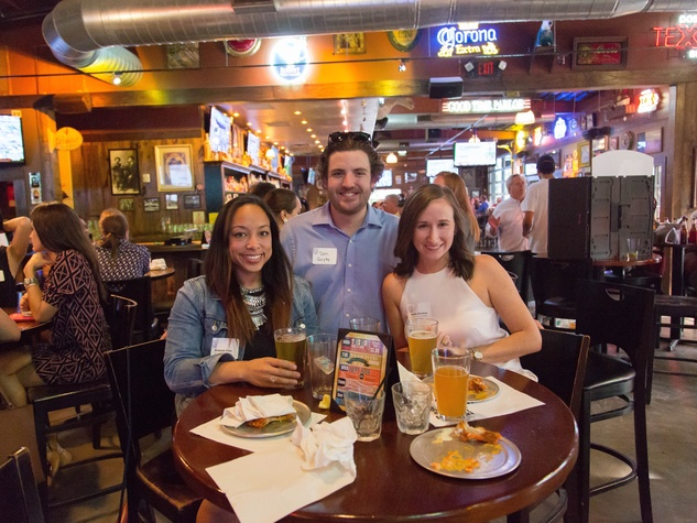 Casa de Esperanza YP event 6/16  Melanie Chin, Don Quigley, Nealy Stuckey
