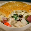 Funky Chicken Houston pot pie December 2013