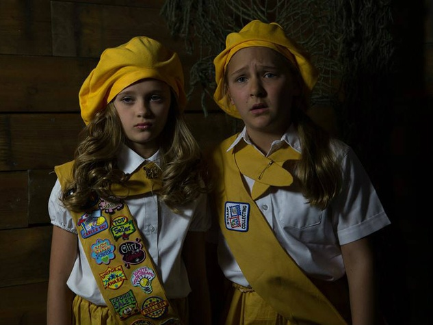 "Dallas actresses Lizzy Greene and Kennedy Waterman in ""Daffodil Girls"""