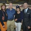 0007, Astros Opening Day Owner's Box, April 2013, Franci Crane, Bill White, Andrea White, Lyle Lovett