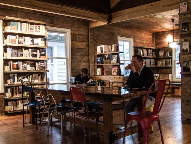Interior of The Wild Detectives in Dallas