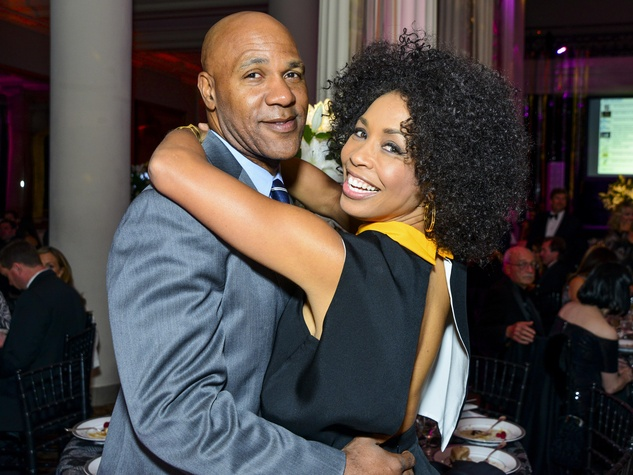 27 Mario Elie and Gina Gaston at the Children's Museum Gala October 2013