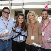 Dillon McCarty, Marian McCarty, Catherine Borders, Brandon Borders at Risotto Festival