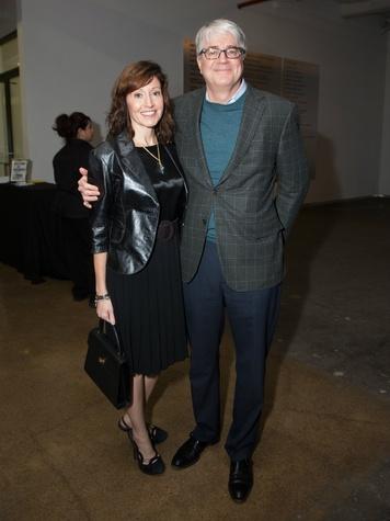 Marlene Sughrue, John Sughrue, Dallas Contemporary Exhibition Opening