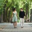 Berenice Marlohe and Anton Yelchin in 5 to 7