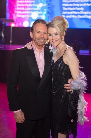 Baylor College of Medicine gala 4/16 Michael Cuthall, Kimberly Cutchall