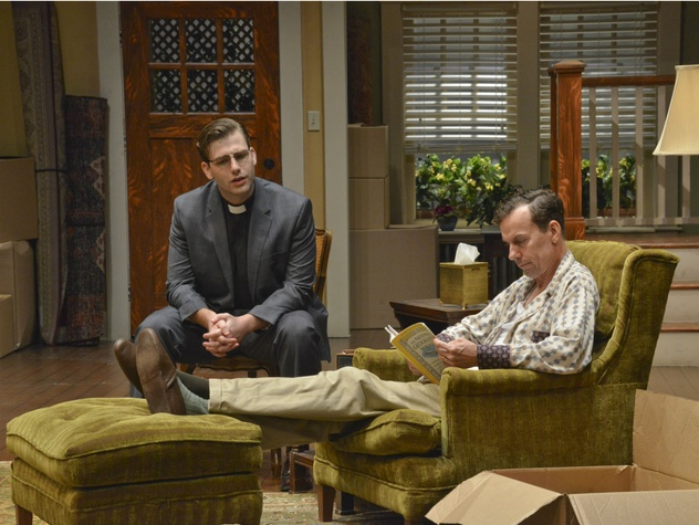 Jacob Stewart and Chamblee Ferguson in Dallas Theater Center's Clybourne Park