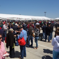 Houston Barbecue Festival, March 2013, , Crowd goes wild