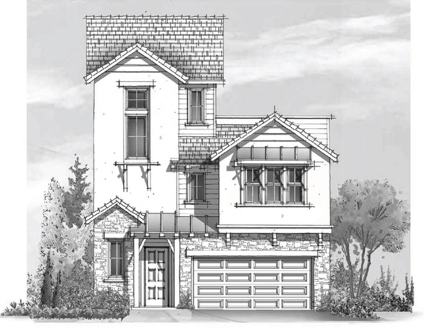 Modern Hill Country story-New Heights project November 2013 cottage rendering 1