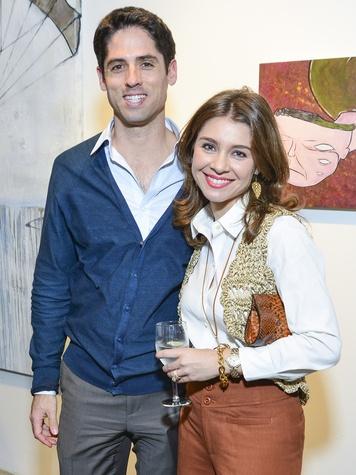 0150 Jason and Rachael Volz at the Children's Assessment Center Art Party November 2013