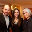 Eduardo Garza, from left, Jessica Crute and Judy Nyquist at the Aga Khan Foundation presentation January 2014