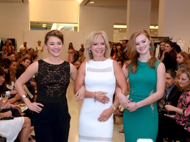 20 Kacie Bobblitt, from left, Cheryl Bobblitt and Kyrstin Bobblitt at Fashion Gene at Tootsies May 2014