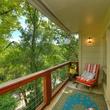Austin home house 5932 Highland Hills Dr 78731 balcony