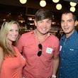 Jessica Blanchard, from left, Evgeny Kasilnikov and Jason Ergen at the Houston Restaurant Kick-Off Event July 2014