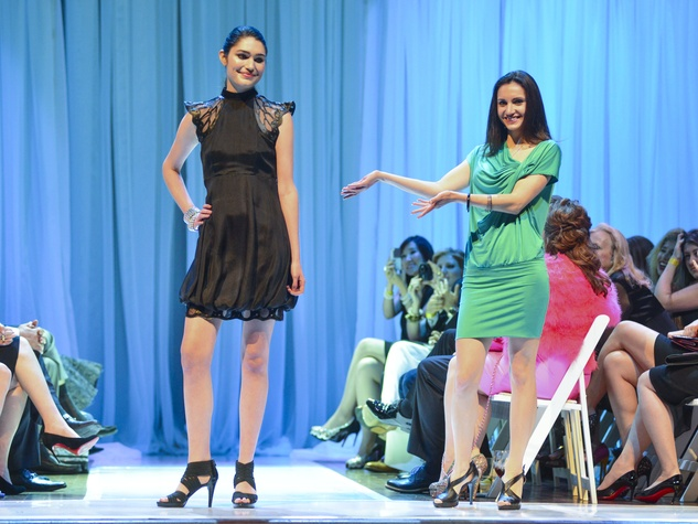Houston Little Black Dress designer fashion show model runway designer