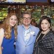 Kari Kooi, from left, Cliff Bueche and Nini Hale Houston Methodist in Aspen July 2014