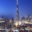 News, Shelby, Dubai, downtown at night, January 2015