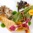 Wink mushrooms and winter vegetables