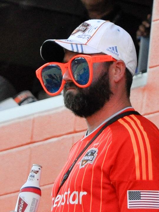 Dynamo fan crazy glasses