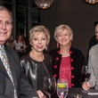 3 Clyde Hays, from left, Jano Kelley, Katie Hays and John Kelley at the Bruce Munro VIP reception at Discovery Green November 2014