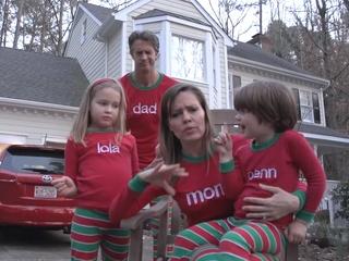 Viral Christmas card video