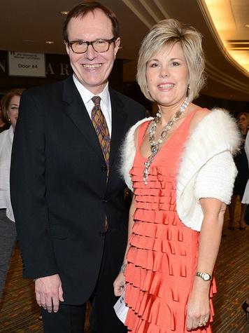 Mel Crews and Barbara Gruberg, woman to woman luncheon