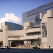 Alley Theatre renovation renderings July 2014 front exterior day