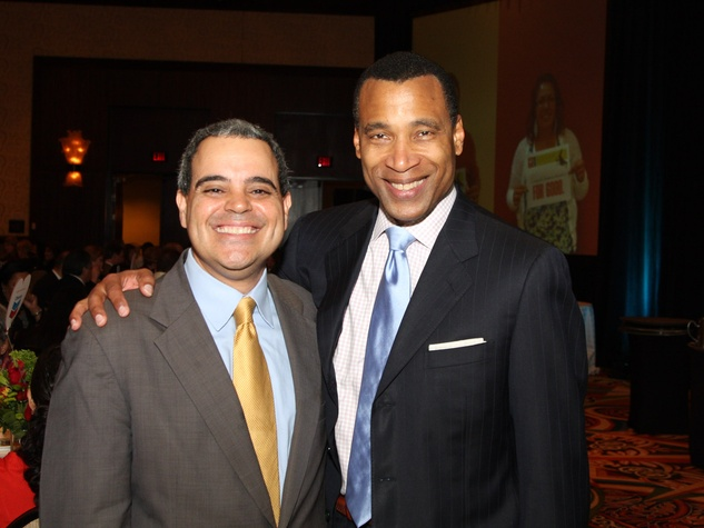 Neighborhood Centers Heart of Gold luncheon, February 2013, David Chaumette, Len Cannon