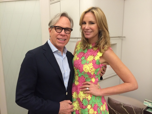 Tommy Hilfiger and Dee Ocleppo at Saks Fifth Avenue May 2014