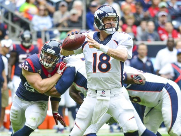 Peyton Manning Texans Broncos