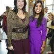 2 Heather Staible, left, and Divya Brown at the Petra Nemcova luncheon December 2013
