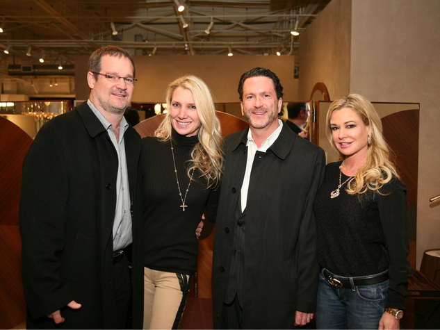 Sterling O'Donnell, Jody O'Donnell, Doug Deason, Holly Bock Deason, No Tie Kickoff