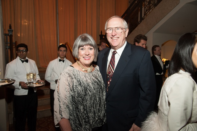 Linda and Phil Lewis at The Women's Home Gala November 2014