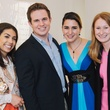Houston Symphony YP MozART and Mixers May 2013 Daria Flores, Brenden Marquardt, Laurentine Marquardt, Sparky Frost