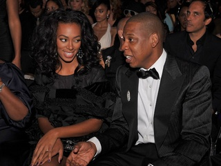 Solange and Jay Z