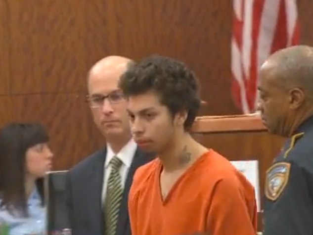 Jose Reyes in court satanic killer February 2014