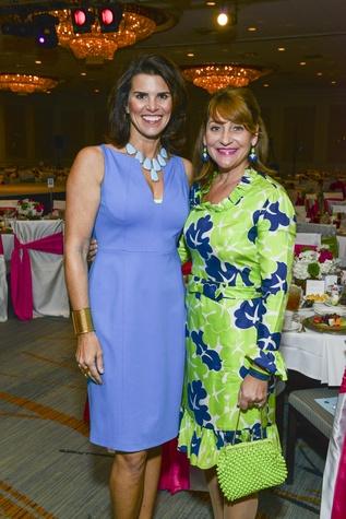 News, Children's Assessment Center luncheon, Lisa Malosky, Denise Hazen, April 2014