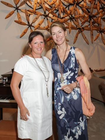 Katy Prairie Conservancy Gala 2015 Laura Kelsey and Janet Cravens