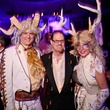 Rich Latimer, from left, Marc Schindler and Dixie Friend Gay at DREAMSCAPE The Orange Show's 32nd Annual Gala November 2013