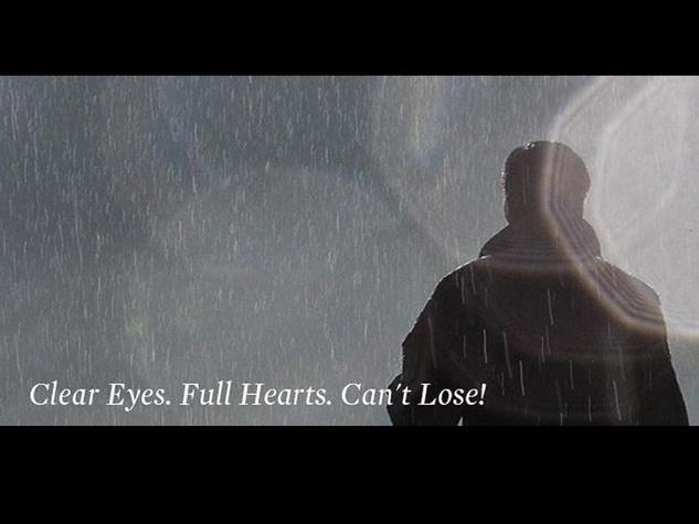 Mitt Romney, clear eyes, full hearts, can't lose, Friday Night Lights, October 2012