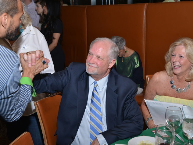 13S Todd Ramos, from left, with Steve and Sandra Rhoden at the Emerald City ESCAPE Celebrity Serve Benefit April 2014