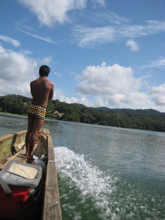 Embera Indian, Panama