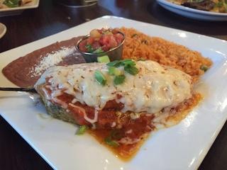 Ula's Mexican chile relleno