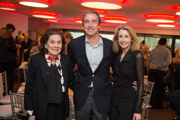 Houston, Alley Theatre opening night, October 2015, Patty Hubbard, Ford Hubbard, Molly Hubbard