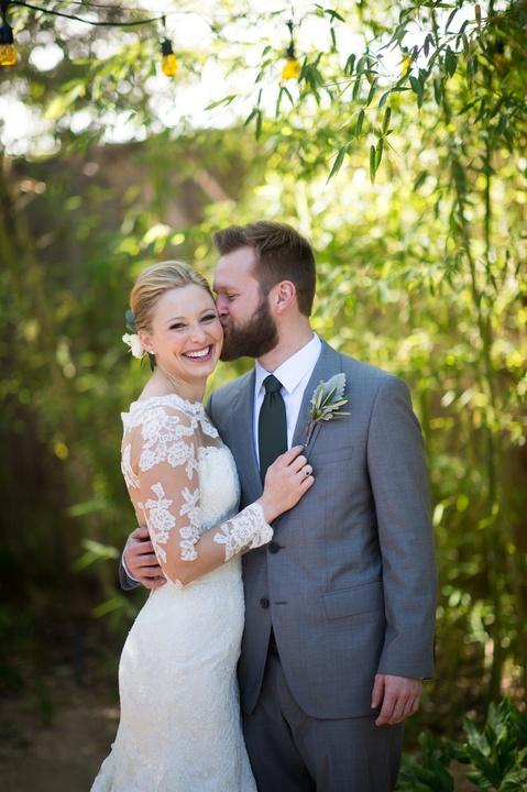 Katie Van Dyk Ben Nelson real wedding-couple