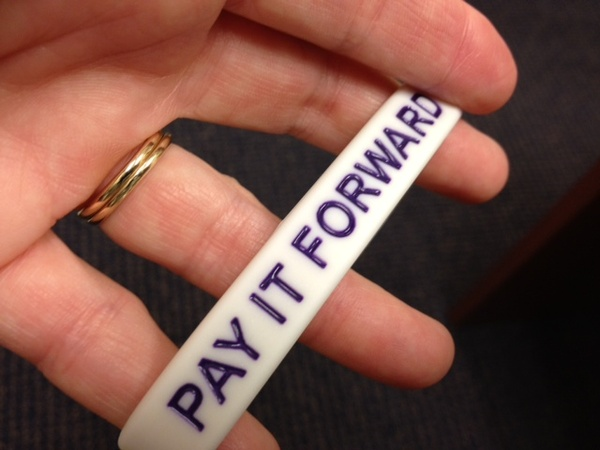 Pay it forward bracelet
