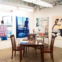 The studio of Rajab Saed/University of Houston School of Art Annual Student Exhibition